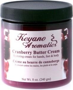 Keyano Aromatics Крем Клюквенный, 236 мл
