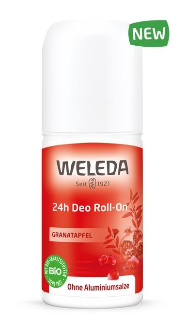 WELEDA Дезодорант Гранатовый 24 часа Roll-On, 50 мл