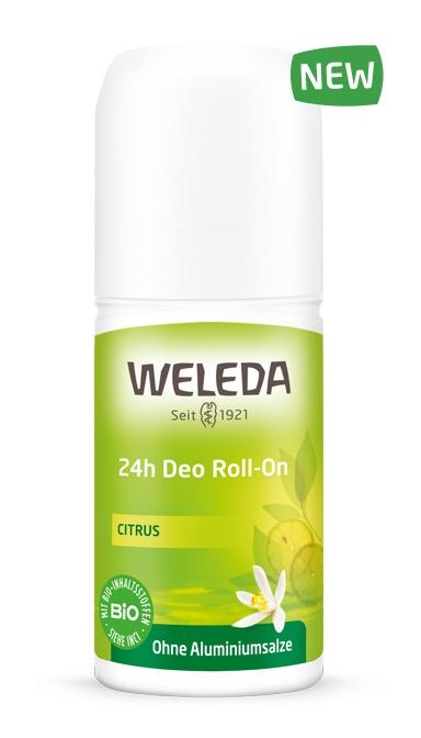 WELEDA Дезодорант Цитрусовый 24 часа Roll-On, 50 мл цены