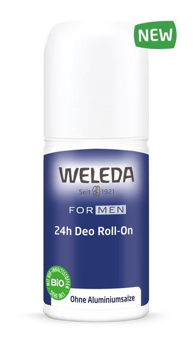 WELEDA Дезодорант Мужской 24 часа Roll-On, 50 мл