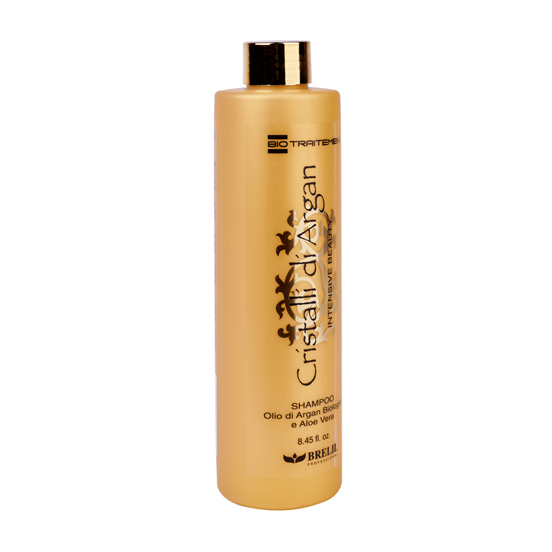 Brelil Professional Шампунь для создания интенсивной красоты, плотности и объема, шелковистости и блеска волос с маслом Аргании и молочком Алоэ, 250 мл цены