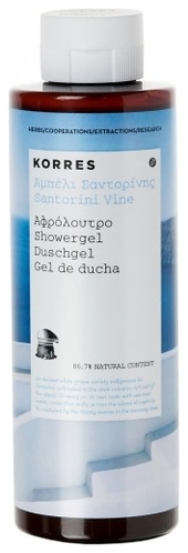 Korres Гель для Душа Белое Вино, 250 мл цены онлайн