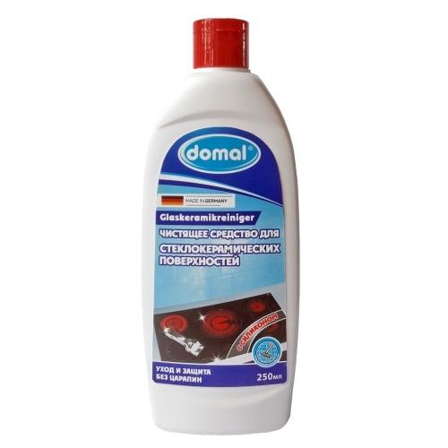DOMAL Средство Жидкое Чистящее для Стеклокерамических Плит, 250 мл domal