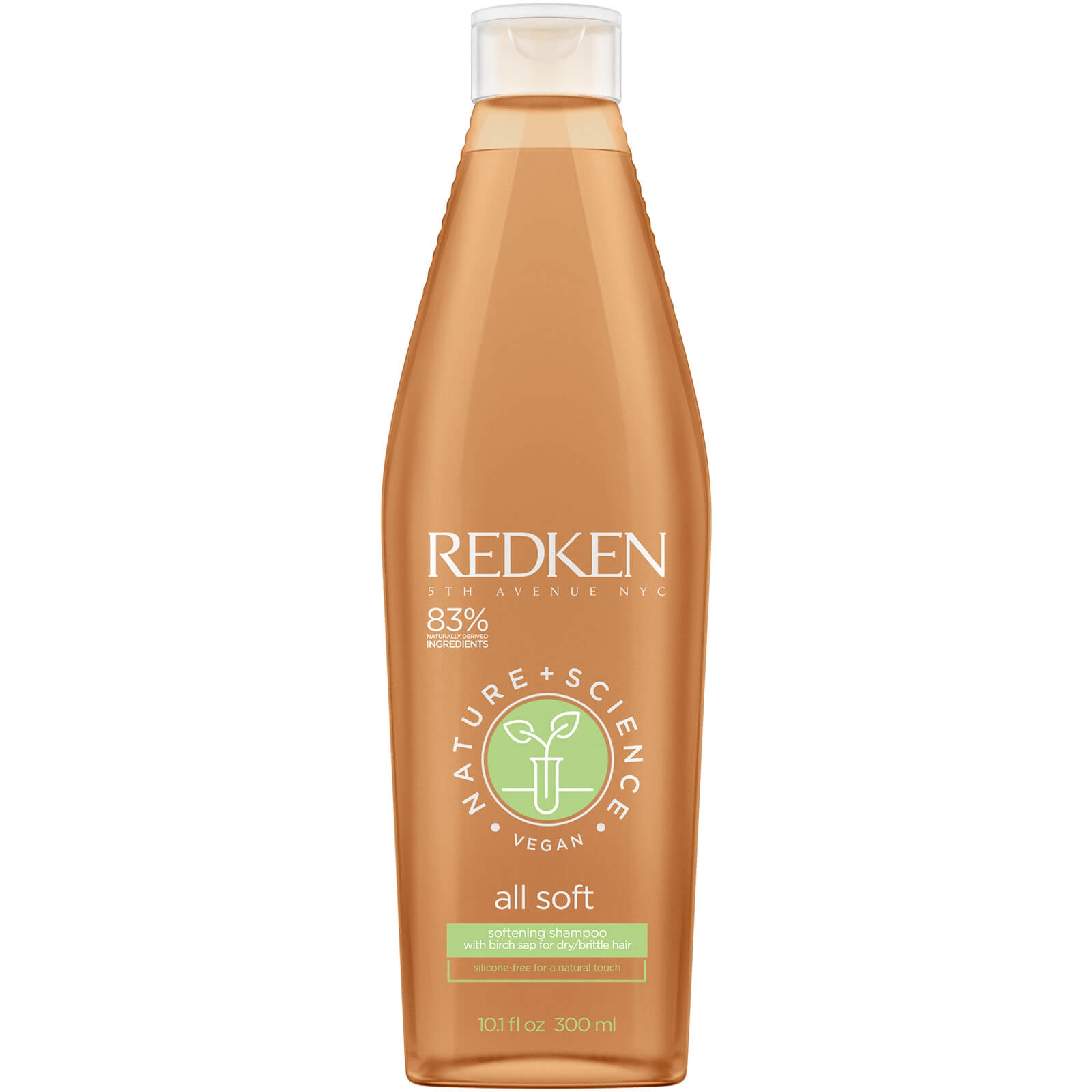 REDKEN Шампунь Nature Science All Soft  Нэйчерал Сайнс Олл Софт, 300 мл