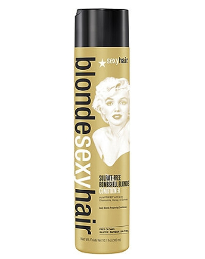 Фото - Sexy Hair Кондиционер Bombshell Blonde Conditioner для Сохранения Цвета без Сульфатов, 300 мл sexy hair blonde кондиционер для сохранения цвета без сульфатов 300 мл