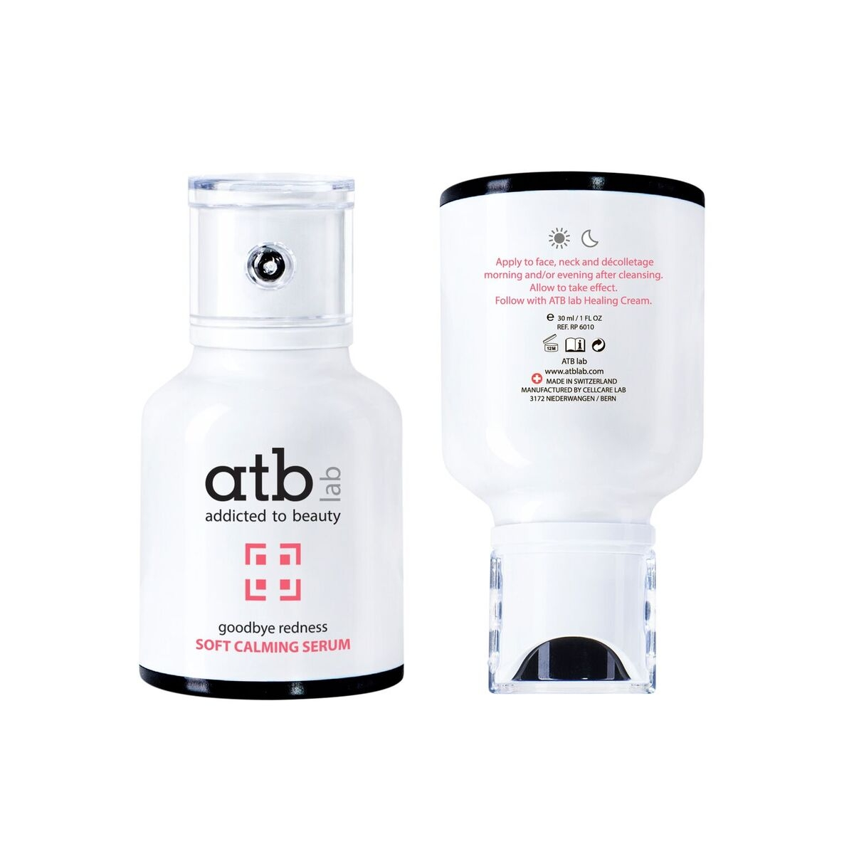 ATB Lab Сыворотка Успокаивающая, 30 мл успокаивающая сыворотка 10 мл hello beauty успокаивающая сыворотка 10 мл