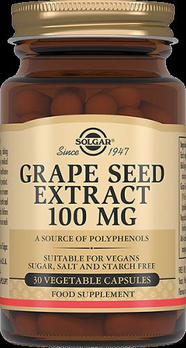 Solgar Экстракт Grape Seed Extract Виноградных Косточек Капсулы №30