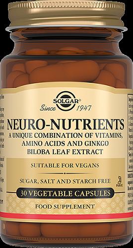цена на Solgar Неронутриентс Neuro-Nutrients Капсулы №30