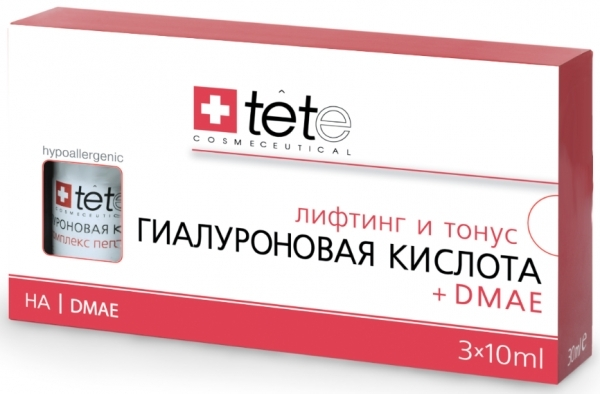 TETe Cosmeceutical Гиалуроновая кислота + ДМАЭ, 30 мл