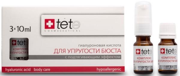 TETe Cosmeceutical Гиалуроновая кислота + комплекс для упругости бюста, 30 мл