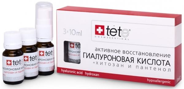 TETe Cosmeceutical Гиалуроновая кислота + Хитозан и пантенол, 30 мл