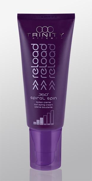Trinity Hair Care Крем для Завитых и Вьющихся Волос 360° Spiral Spin Lockencreme, 100 мл