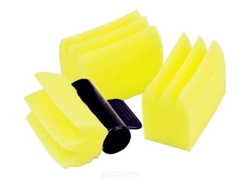 OLLIN PROFESSIONAL Губки для Химии 3 шт+Держатель ollin professional шапочки для мелирования 5 шт крючок