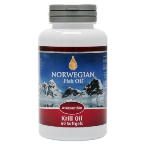 Norwegian Омега 3 Масло Криля NFO Omеga Krill Oil, 60 капсул