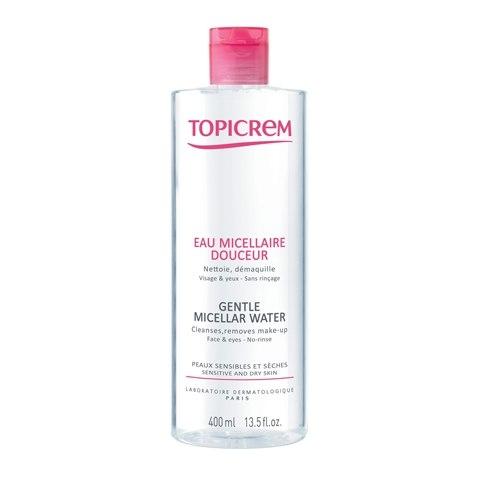 Topicrem Мягкая Мицеллярная Вода, 400 мл жидкость для снятия макияжа topicrem 400 мл мягкая очищающая