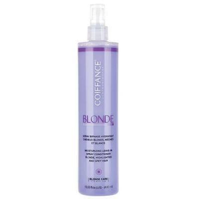 COIFFANCE professionnel Двухфазный Увлажняющий Спрей для Светлых, Обесцвеченных и Седых Волос, 400 мл