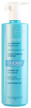 Ducray Гель для Лица и Тела Очищающий Керакнил, 400 мл