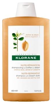 Klorane Питательный Шампнуь  с Маслом Финика Пустынного, 400 мл где купить шампунь klorane