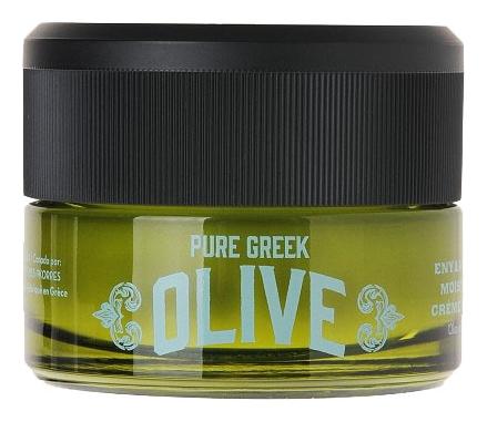 Korres Крем Ночной Увлажняющий Греческая Олива, 40 мл греческая косметика korres официальный сайт