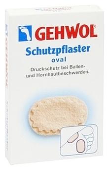 GEHWOL Овальный защитный пластырь, 4 шт компид пластырь от врастающих мозолей на ногах средний 10шт