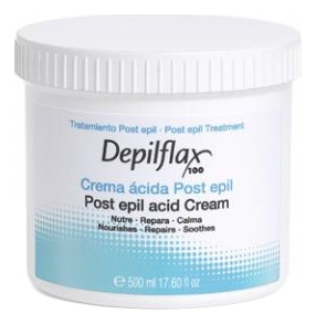 Depilflax Сливки Post Epil Acid Cream для Кожи после Депиляции, 500 мл