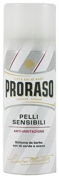 Proraso Пена для Бритья Чувствительной Кожи, 50 мл