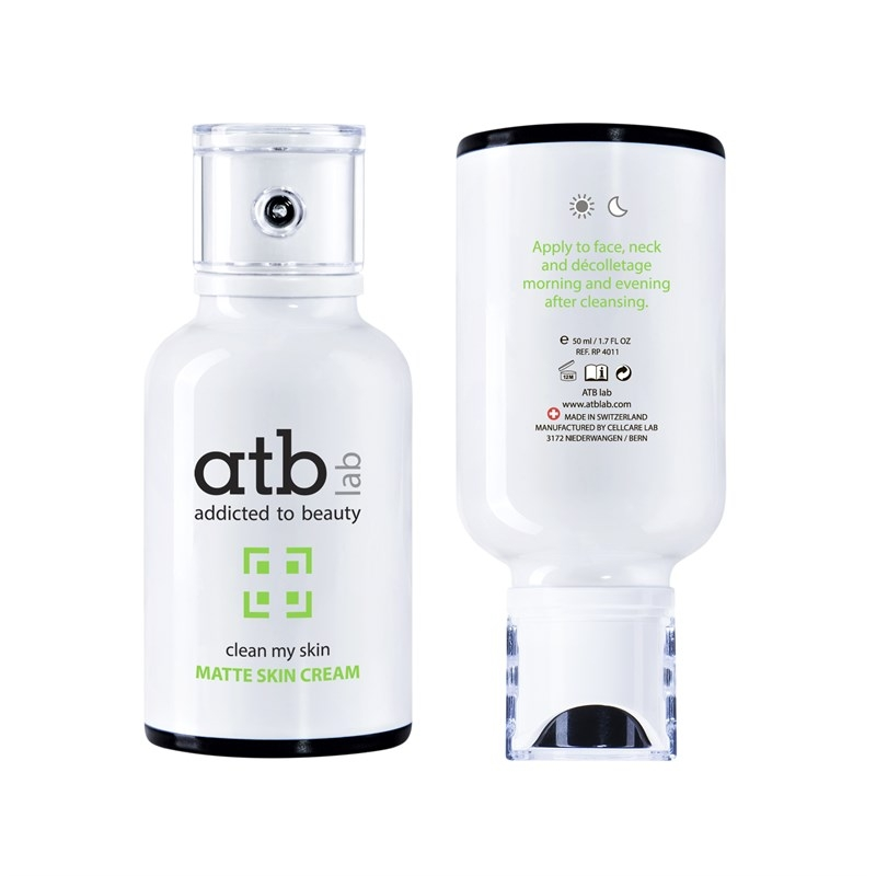 ATB Lab Крем Matte Skin Cream Матирующий, 50 мл atb lab сыворотка успокаивающая 30 мл