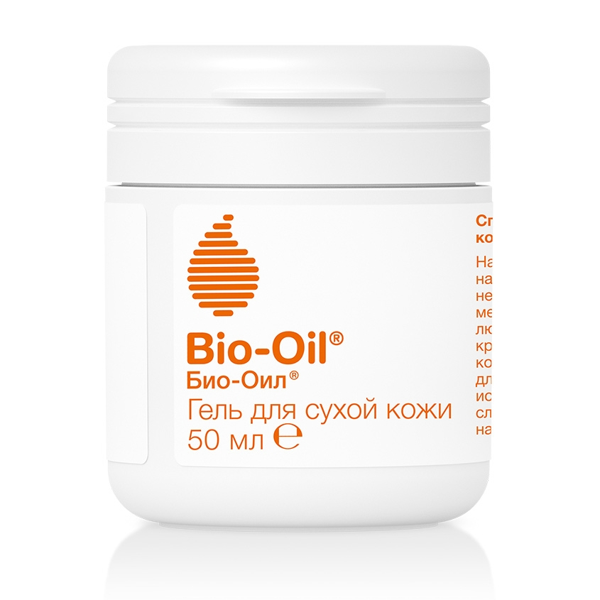 Bio-oil Гель Dry Skin Gel для Сухой Кожи Банка, 50 мл гель для тела bio oil для сухой кожи 100 мл