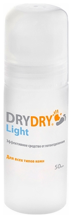 Dry Dry Средство от Обильного Потовыделения Ролик Лайт, 50 мл