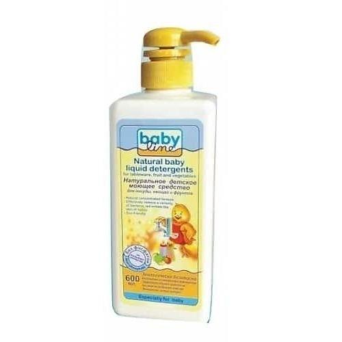 BABYLINE Средство Натуральное Детское Моющее для Посуды, Овощей и Фруктов, 600 мл