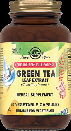 Solgar Экстракт Green Tea Leaf Extract Листьев Зеленого Чая Капсулы №60