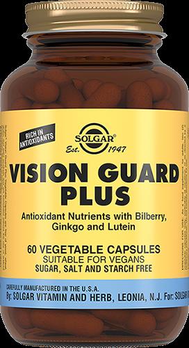 Solgar Вижн Гард Плюс Vision Guard + Капсулы №60