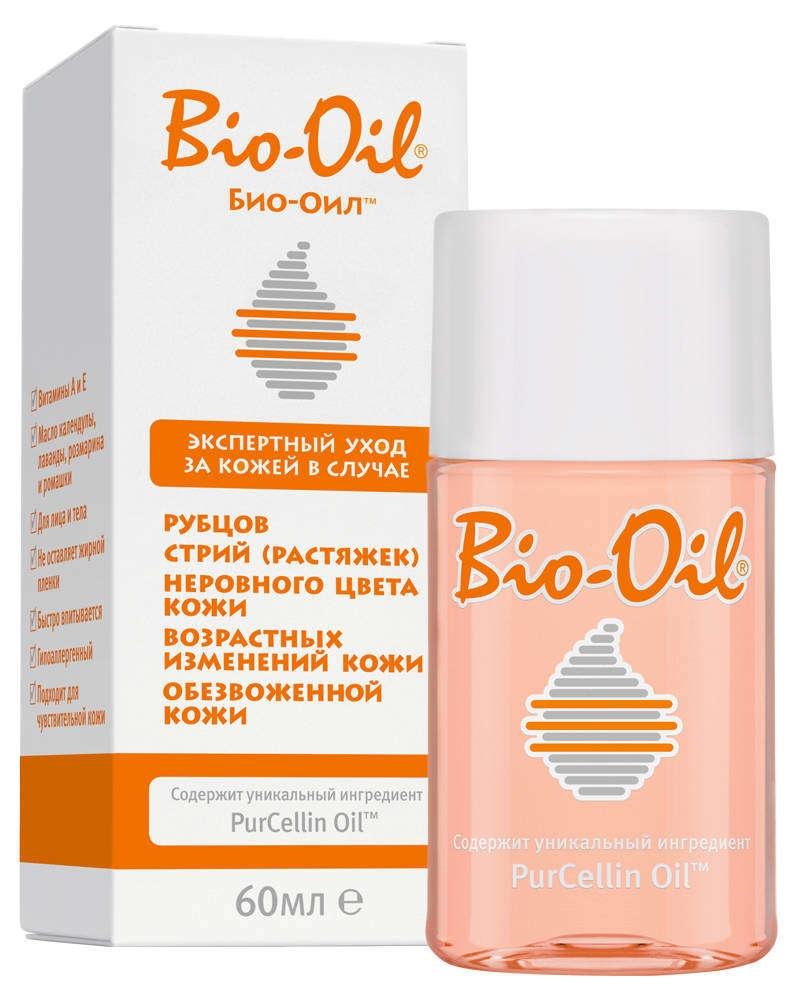 Bio-oil Масло Bio-Oil Косметическое для Тела, 60 мл гель для тела bio oil для сухой кожи 100 мл