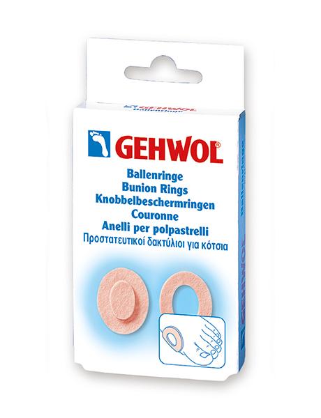 GEHWOL Накладки кольца, овальные, 6 шт