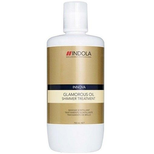 цена INDOLA PROFESSIONAL Маска Glamorous Oil Treatment Hair Mask Восстанавливающая Смываемая Чарующее Сияние, 750 мл онлайн в 2017 году