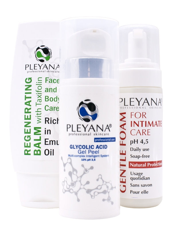 Pleyana Home Skin Care Set  #7 Intim-Shine