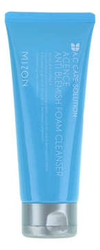 MIZON Пенка Acence Anti Blemish Foam Cleanser для Очищения Проблемной Кожи, 150 мл