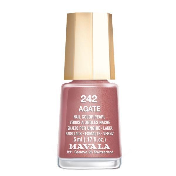 Mavala Лак Agate 91242 для Ногтей Агат, 5 мл mavala лак wind breeze 9091116 для ногтей легкий бриз 5 мл