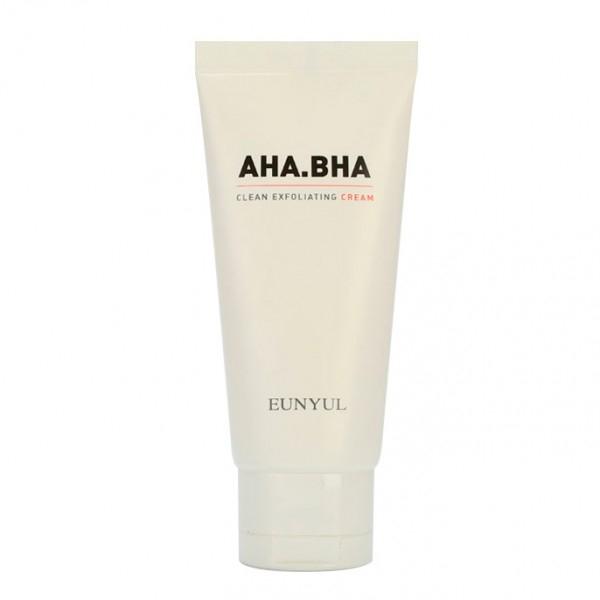 Eunyul Крем Обновляющий с AHA и BHA Кислотами для Чистой Кожи A Clean Exfoliating Cream, 50г