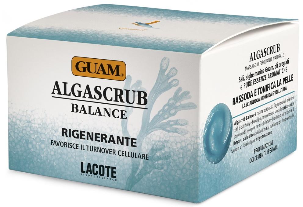 GUAM Скраб Algascrub с Эфирными Маслами Баланс и Восстановление, 300 мл guam algascrub скраб для тела баланс и восстановление 300 мл