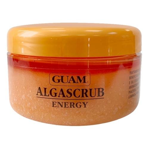 GUAM Скраб Algascrub с Эфирными Маслами Энергия и Тонус, 300 мл guam algascrub скраб для тела баланс и восстановление 300 мл