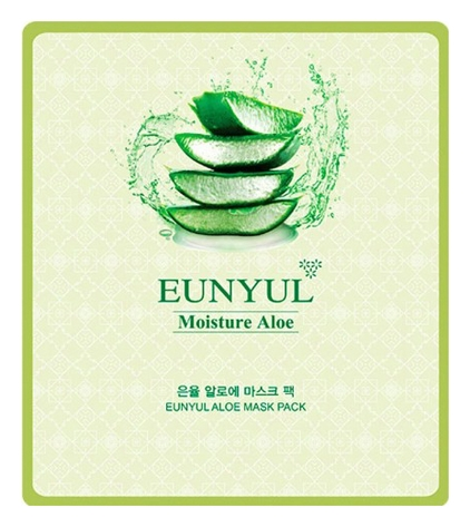 Eunyul Маска Тканевая с Экстрактом Алоэ Aloe Mask Pack, 30 мл ekel aloe ultra hydrating essence mask маска тканевая с экстрактом алоэ вера 25 гр