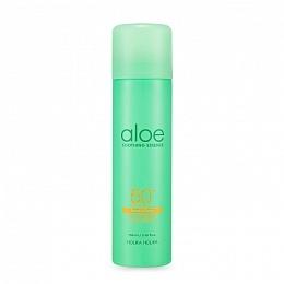Holika Спрей Aloe Soothing Essence Face&Body Ice Cooling Sun Spray SPF 50+ PA ++++ Солнцезащитный с Охлаждающим Эффектом, 100 мл