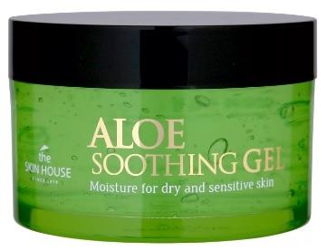 The Skin House Гель Aloe Soothing Gel Успокаивающий  с Экстрактом Алоэ для Лица и Тела, 100 мл
