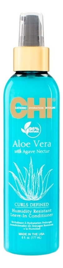 CHI Несмываемый Увлажняющий Кондиционер Aloe Vera with Agave Nectar, 177 мл