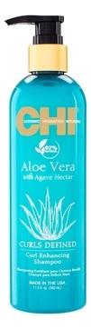 CHI Шампунь для Вьющихся Волос Aloe Vera with Agave Nectar, 340 мл