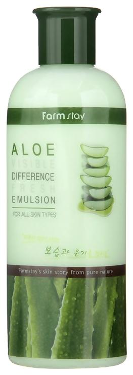 FarmStay Эмульсия Освежающая с Экстрактом Алоэ Aloe Visible Difference Fresh Emulsion, 350 мл