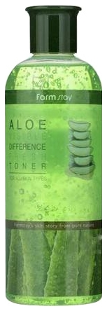 FarmStay Тонер Освежающий с Экстрактом Алоэ Aloe Visible Difference Fresh Toner, 350 мл bicelle hydra b5 toner 240ml fresh