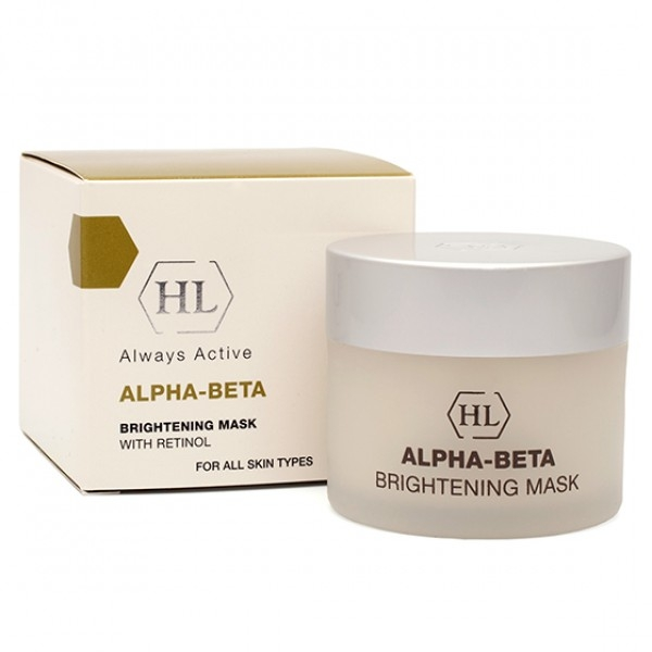 Holy Land Маска Alpha-Beta & Retinol (Abr) Brightening Mask Осветляющая, 50 мл holy land набор abr kit abr lot 125 abr day 50 abr rest 50