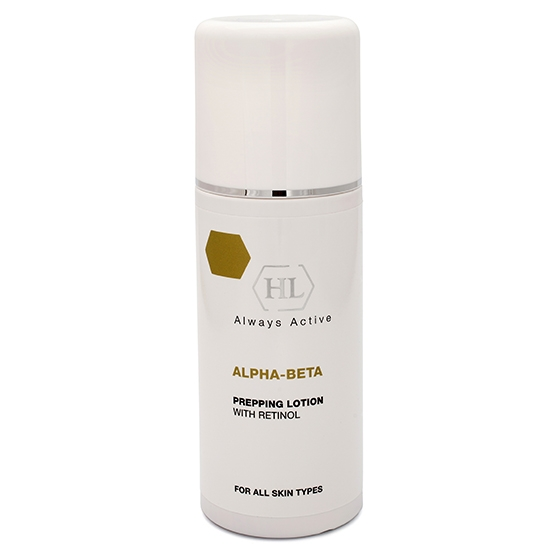 Holy Land Лосьон Alpha-Beta & Retinol (Abr) Prepping Lotion Подготовительный, 250 мл holy land набор abr kit abr lot 125 abr day 50 abr rest 50